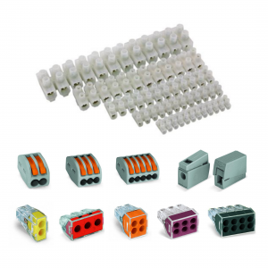 Terminal Blocks, Strips & Connectors